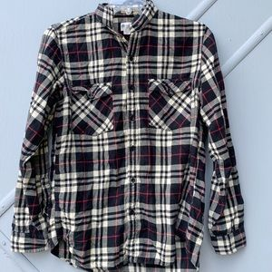 J. Crew Tailored fit Flannel | Size Medium